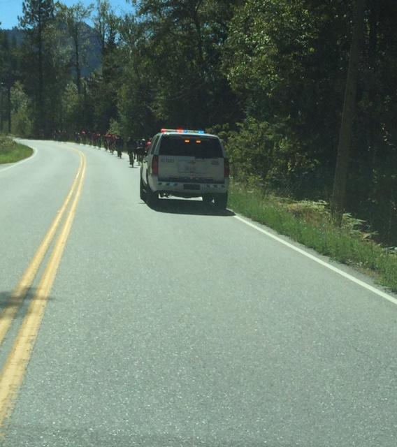Creston Road - Cops for Kids Ride