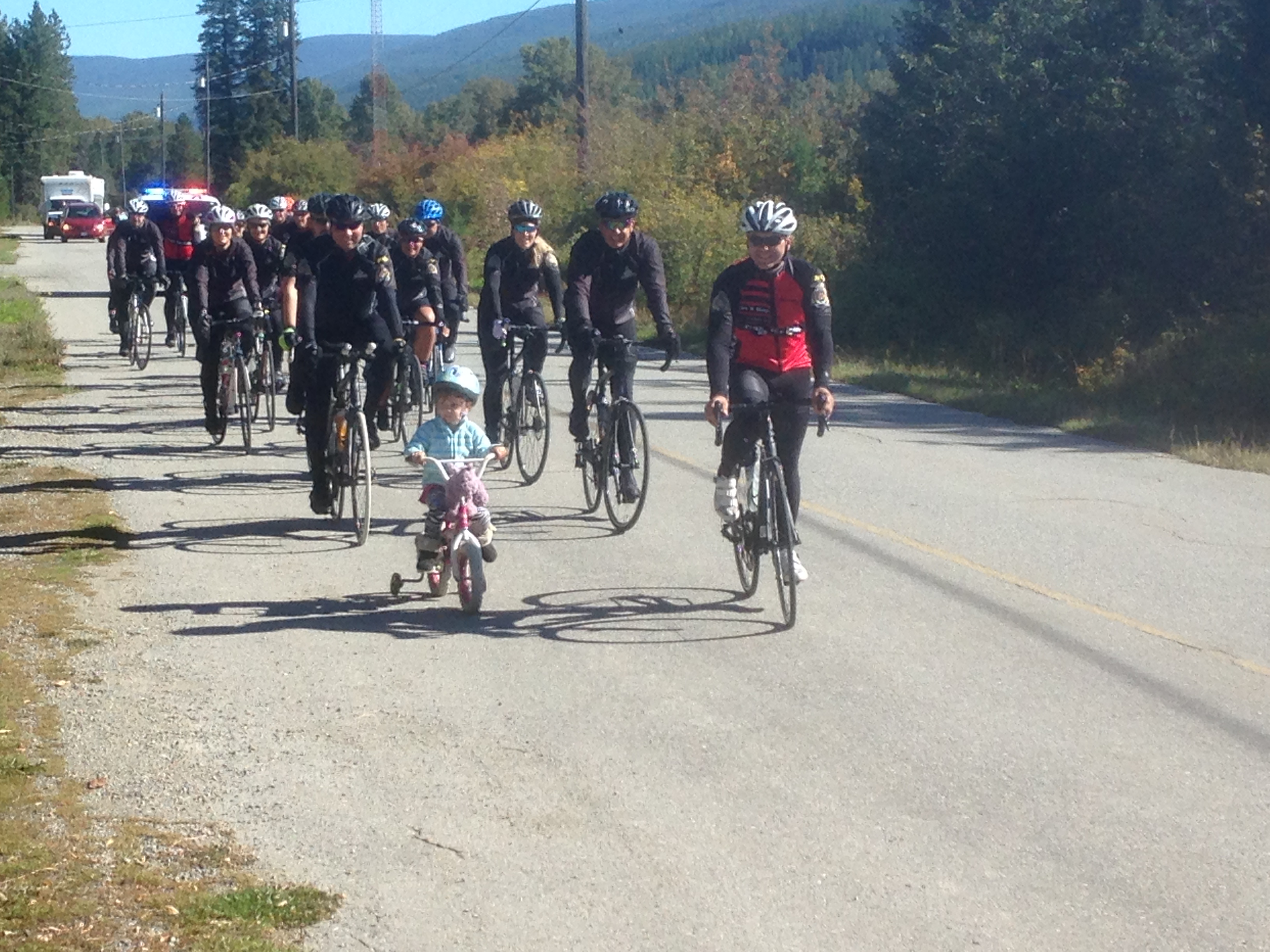 Sunshine on the Rockies — Cops for Kids